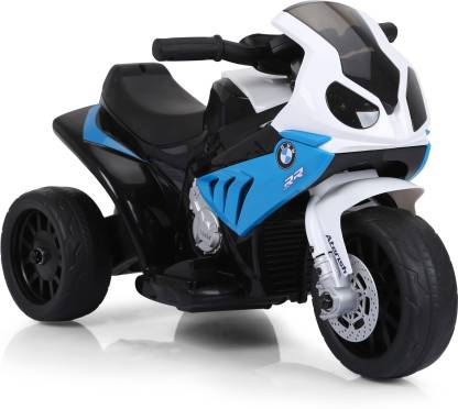 Miss & Chief Licensed BMW Bike Style 6V 4.5 AH 20W Battery Powered Ride On with rechargeable batteries,Music&Light Bike Battery Operated Ride On