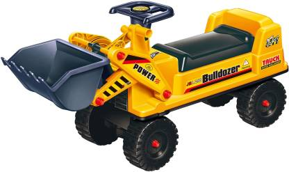 Miss & Chief Free Wheel Bulldozer Ride on Car Rideons & Wagons Non Battery Operated Ride On