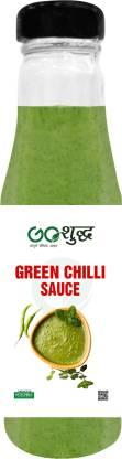 Goshudh Premium Quality Green Chilli Sauce-200gm (Pack Of 1) Sauce