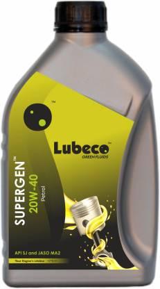 LUBECO Supergen20W40Petrol Supergen™ 20W40 Petrol Engine Oil (1 Litre) Synthetic Blend Engine Oil
