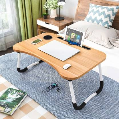 MSM ZONE Wood Portable Laptop Table