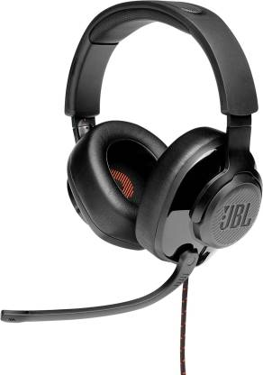 [Pay Via Paytm] JBL Quantum 200 Wired Gaming Headset(Black, On the Ear)