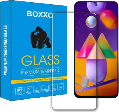 Boxxo Tempered Glass Guard for Samsung Galaxy M51
