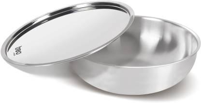 MILTON Pro Cook Triply Stainless Steel Tasla with Lid Tasla with Lid 1.6 L capacity 20 cm diameter