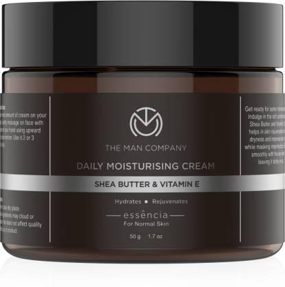 THE MAN COMPANY Daily Moisturising cream, Shea Butter & Vitamin E