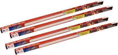 HPL BRIGHT LED Batten 20W CDL pack of 4 Straight Linear LED Tube Light