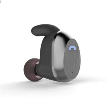 BEAT BUFF Wireless Earbuds High Performance Stereo Bluetooth Bluetooth Headset(Grey, True Wireless)