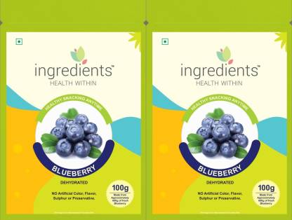 INGREDIENTS Blueberry Blueberry