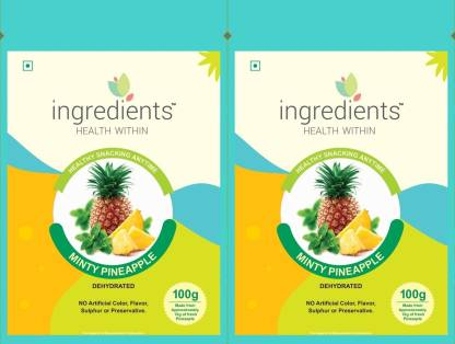INGREDIENTS Minty Pineapple Pineapple