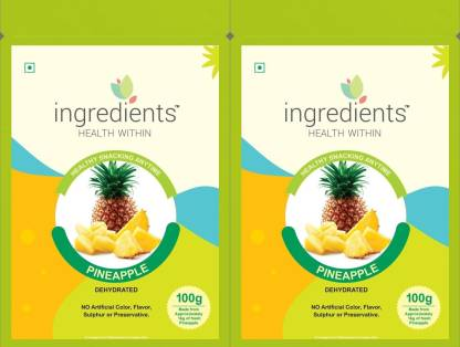 INGREDIENTS Dehydrated Pineapple Candy 200g Pineapple