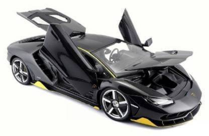 RJD Lamborghini Centenario Die Cast Metal Fast and Furious Luxury Pull Back Car Toy with Light and Sound