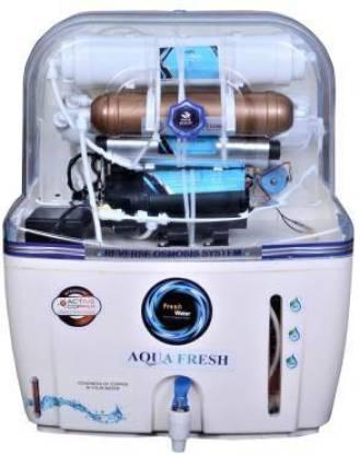 Aqua Fresh DT Swift Aura COPPER MINERAL+ro+uv+tds 15 L 15 L RO + UV + UF + TDS Water Purifier (White) 15 L RO + UV + UF + TDS Water Purifier