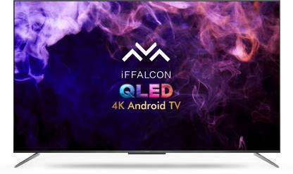 Iffalcon 138.6 cm (55 inch) QLED Ultra HD (4K) Smart Android TV HandsFree Voice Search