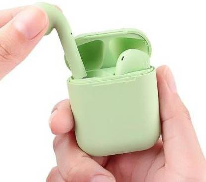 Tipton I12 Bluetooth Headset(Multicolor, As per Stock, True Wireless)