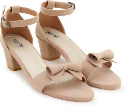 Right One Women Beige Heels