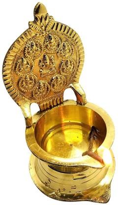 Ziaon Brass Table Diya
