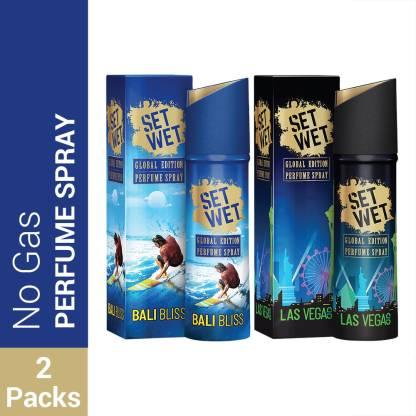 SET WET Global Edition Bali Bliss With Las Vegas Live Perfume Spray Perfume Body Spray  -  For Men