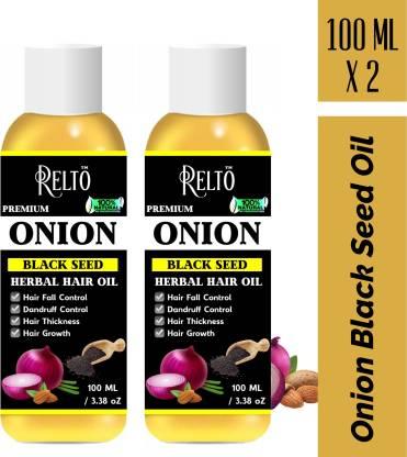 Grab Fast ONION BLACK SEED HAIR OIL (100ml x 2)