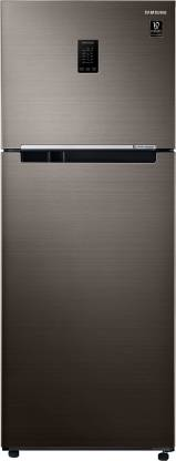 SAMSUNG 386 L Frost Free Double Door 3 Star Convertible Refrigerator  with Curd Maestro