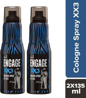 Engage XX3 Cologne 135ml Deodorant Spray  -  For Women