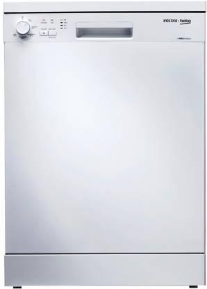 Voltas Beko DF14W Free Standing 14 Place Settings Dishwasher