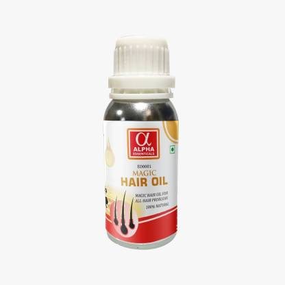 Alpha Chemika Essenticals Ayurveda Magic Hair Oil, 100ml, Organic Remedy for Dandruff, Hairfall Hair Oil