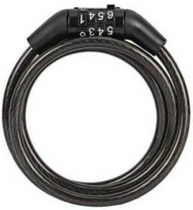 Dark Horse Multipurpose best Lock For Cycle Helmet Bike and Luggage Bicycle Lock Cycle Lock