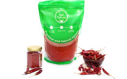 justspices Premium Kashmiri Red Chilli Powder (Kashmiri Lal Mirch Powder) 100% Pure and Natural