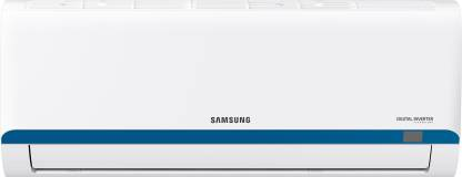 SAMSUNG 1 Ton 3 Star Split Inverter AC  - White, Blue1