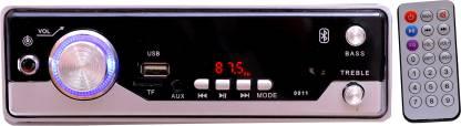 Flipkart SmartBuy FSB-Silver011 BLUETOOTH/USB/SD/AUX/FM/MP3 BOOM MASTER Car Stereo ( Single Din) Car Stereo