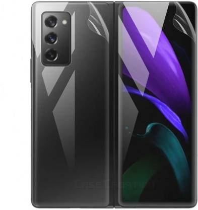 Case Creation Front and Back Tempered Glass for Samsung Galaxy Z Fold 2