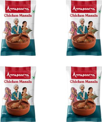Annapoorna Chicken Masala 100gms Pack of 4