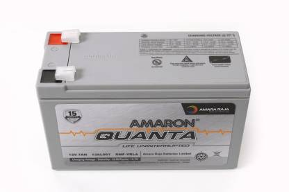 amaron 12V 7AH SMF Battery for Use in Any UPS/ Solar/ Mini Inverter and More Instruments UPS