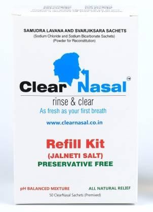 Clearnasal Plastic White Neti Pot