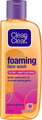 Clean & Clear Oil Free Foaming  Face Wash