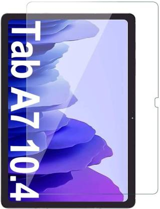 TECHSHIELD Edge To Edge Tempered Glass for Samsung Galaxy Tab A7 10.4 inch SM-T500/505 (Pack of 1)