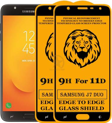 SEVEN7STAR Tempered Glass Guard for Samsung Galaxy J7 Duo