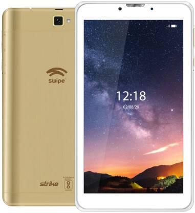 Swipe STRIKE 3 GB RAM 32 GB ROM 7 inch with Wi-Fi+4G Tablet (Gold)