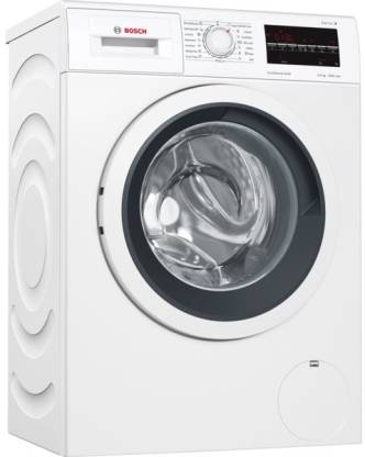 BOSCH 6.5 kg Fully Automatic Front Load with In-built Heater White