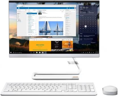 Lenovo Ideacentre Ryzen 3 Dual Core (8 GB DDR4/1 TB/Windows 10 Home/21.5 Inch Screen/Ideacentre AIO 3 22ADA05 (F0EX0082IN)) with MS Office