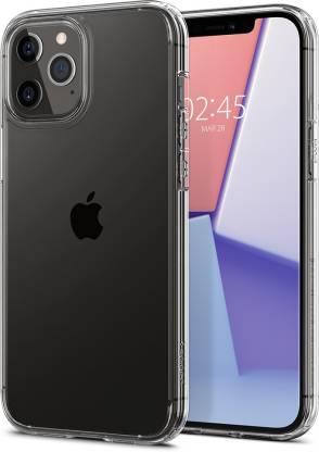 Spigen Back Cover for Apple iPhone 12, Apple iPhone 12 Pro