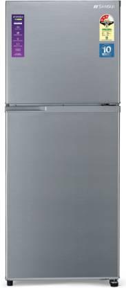 Sansui 271 L Frost Free Double Door 3 Star Refrigerator