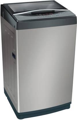 BOSCH 6.5 kg HYGIENIC WASH Fully Automatic Top Load Grey