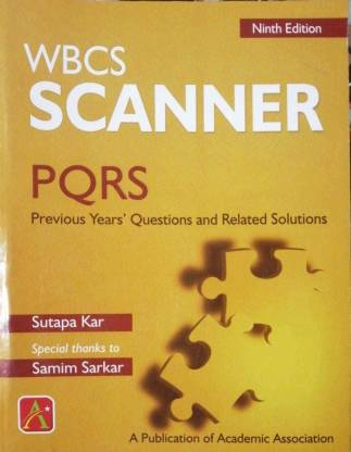 Wbcs Scanner 9th Edition (Previous Years Question And Related Solutions)