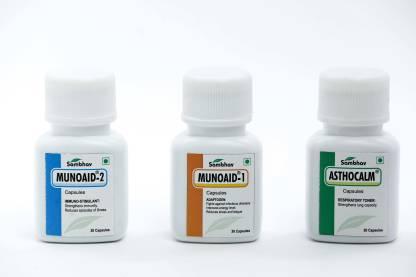 Sambhav Pharma MUNOAID KIT   Ayurvedic Harmonizer for Immunity