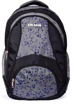 Large 33 L Laptop Backpack LEOPARD(Black, Grey)