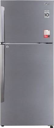 LG 437 L Frost Free Double Door 2 Star Convertible Refrigerator
