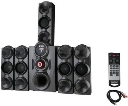 X9X HI BASS DJ SOUND SYSTEM 9500 W 778 JUMBO GREY 9 W Bluetooth Home Theatre