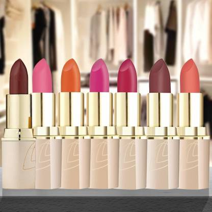 LOTUS HERBALS UP MAKE-UP PURE COLORS? MATTE LIP COLOR ENDLESS mix shade pack of 7 ps