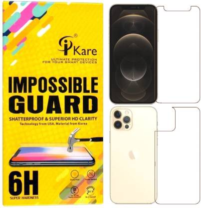 iKare Front and Back Screen Guard for Apple iPhone 12 Pro